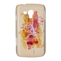 Paris With Watercolor Samsung Galaxy Duos I8262 Hardshell Case