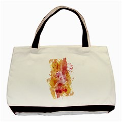 Paris   Mon Amour   With Watercolor Basic Tote Bag