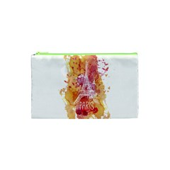 Paris   Mon Amour   With Watercolor Cosmetic Bag (XS)