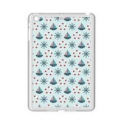 Nautical Elements Pattern iPad Mini 2 Enamel Coated Cases