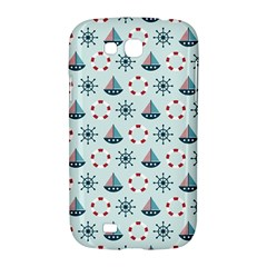 Nautical Elements Pattern Samsung Galaxy Grand GT-I9128 Hardshell Case
