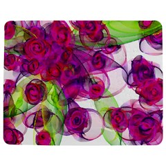Violet Jigsaw Puzzle Photo Stand (Rectangular)