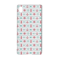 Seamless Nautical Pattern Sony Xperia Z3+