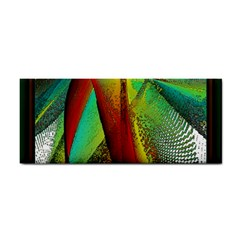 Stained Glass Window Hand Towel