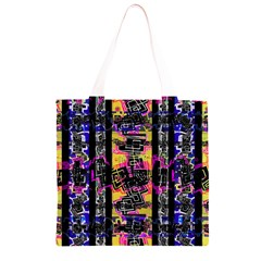 Urban Tribal Stripes Grocery Light Tote Bag