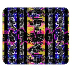 Urban Tribal Stripes Double Sided Flano Blanket (small)