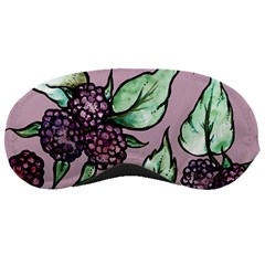 Black Raspberry Fruit Purple Pattern Sleeping Masks