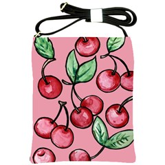 Cherry Pattern Shoulder Sling Bags