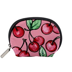 Cherry Pattern Accessory Pouches (Small)