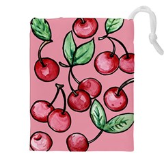 Cherry Pattern Drawstring Pouches (xxl)