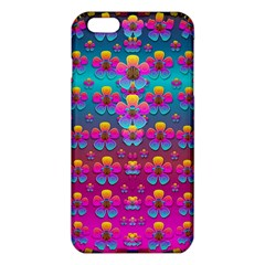 Freedom Peace Flowers Raining In Rainbows iPhone 6 Plus/6S Plus TPU Case