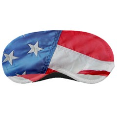 Folded American Flag Sleeping Masks