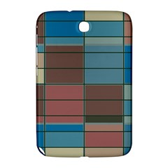 Rectangles In Retro Colors Pattern                      samsung Galaxy Note 8 0 N5100 Hardshell Case