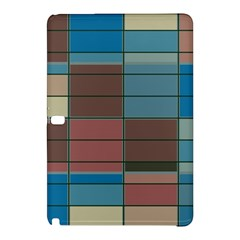 Rectangles In Retro Colors Pattern                      samsung Galaxy Tab Pro 12 2 Hardshell Case