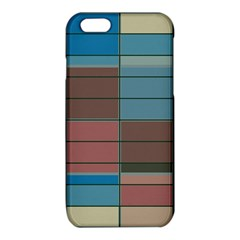 Rectangles in retro colors pattern                      iPhone 6/6S TPU Case