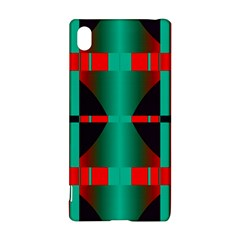 Vertical Stripes And Other Shapes                        sony Xperia Z3+ Hardshell Case