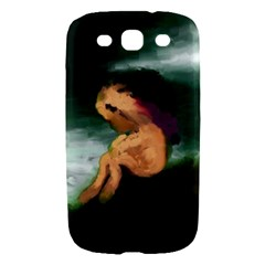Hand Painted Lonliness Illustration Samsung Galaxy S III Hardshell Case