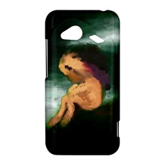 Hand Painted Lonliness Illustration HTC Droid Incredible 4G LTE Hardshell Case
