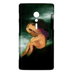 Hand Painted Lonliness Illustration Sony Xperia ion