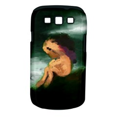 Hand Painted Lonliness Illustration Samsung Galaxy S III Classic Hardshell Case (PC+Silicone)