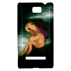 Hand Painted Lonliness Illustration HTC 8S Hardshell Case