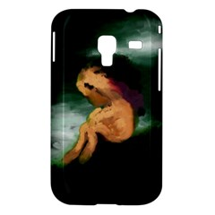 Hand Painted Lonliness Illustration Samsung Galaxy Ace Plus S7500 Hardshell Case