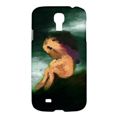 Hand Painted Lonliness Illustration Samsung Galaxy S4 I9500/I9505 Hardshell Case