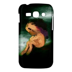Hand Painted Lonliness Illustration Samsung Galaxy Ace 3 S7272 Hardshell Case