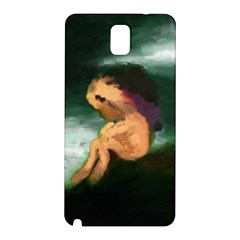 Hand Painted Lonliness Illustration Samsung Galaxy Note 3 N9005 Hardshell Back Case
