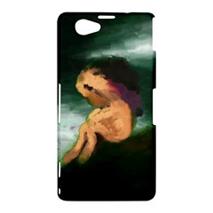 Hand Painted Lonliness Illustration Sony Xperia Z1 Compact