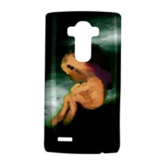 Hand Painted Lonliness Illustration LG G4 Hardshell Case