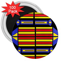 Flair One 3  Magnets (100 Pack)