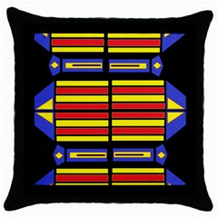 Flair One Throw Pillow Case (black)
