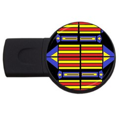 Flair One Usb Flash Drive Round (4 Gb)