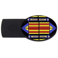 Flair One Usb Flash Drive Oval (4 Gb)