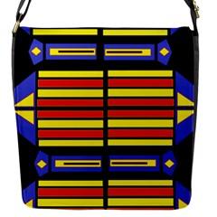 Flair One Flap Messenger Bag (s)
