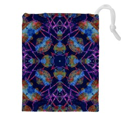Ornate Mosaic Drawstring Pouches (XXL)