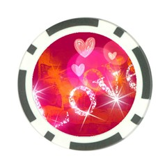Love Poker Chip Card Guards (10 Pack)