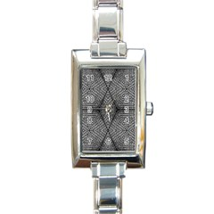The Weave  Rectangle Italian Charm Watch