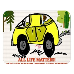 All Life Matters! Double Sided Flano Blanket (large)