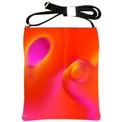 Orange Cream Shoulder Sling Bags