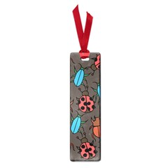Beetles And Ladybug Pattern Bug Lover  Small Book Marks