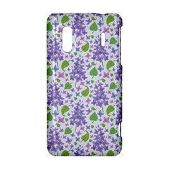 liliac flowers and leaves Pattern HTC Evo Design 4G/ Hero S Hardshell Case