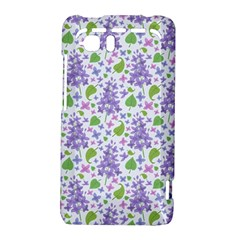 liliac flowers and leaves Pattern HTC Vivid / Raider 4G Hardshell Case