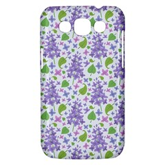 liliac flowers and leaves Pattern Samsung Galaxy Win I8550 Hardshell Case