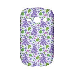 liliac flowers and leaves Pattern Samsung Galaxy S6810 Hardshell Case