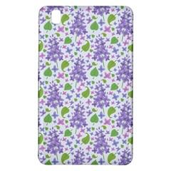 liliac flowers and leaves Pattern Samsung Galaxy Tab Pro 8.4 Hardshell Case
