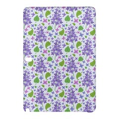 liliac flowers and leaves Pattern Samsung Galaxy Tab Pro 12.2 Hardshell Case