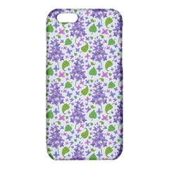 liliac flowers and leaves Pattern iPhone 6/6S TPU Case
