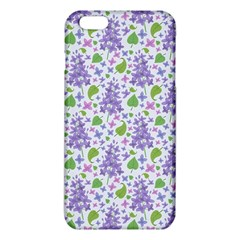 liliac flowers and leaves Pattern iPhone 6 Plus/6S Plus TPU Case